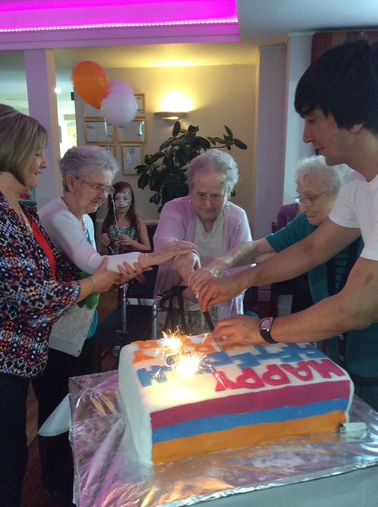 Charnwood Lodge celebrates 15 years