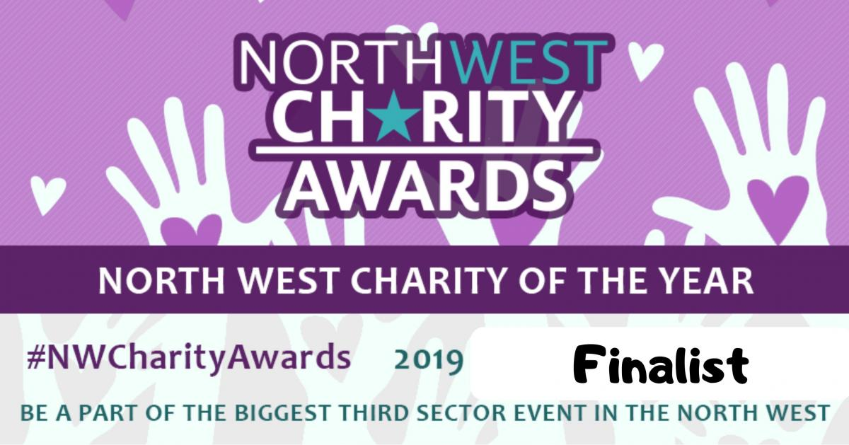 North West Charity of the Year - Shortlisted!