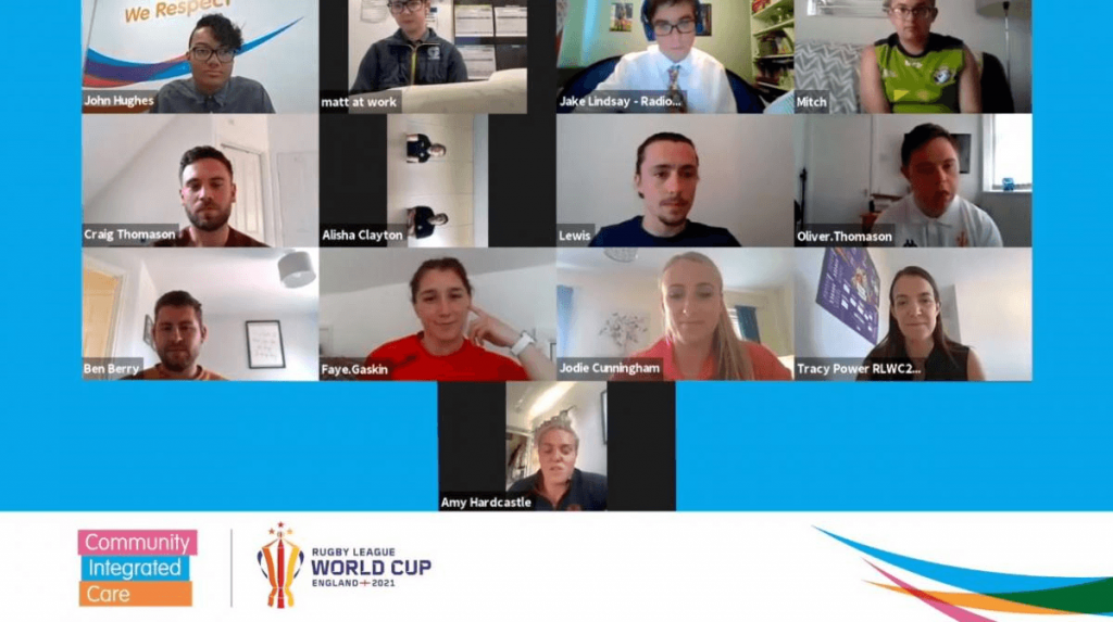 Video call meeting for Women's Challenge Cup