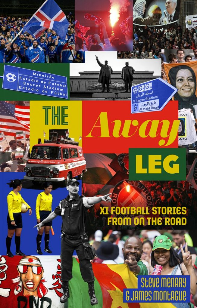 The Away Leg Book front cover