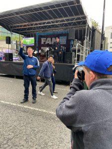 Media volunteer at Magic Weekend