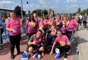 Leeds 10K group shot