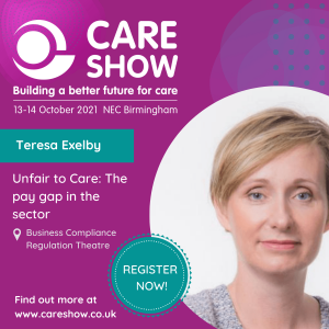 Community Integrated Care's Chief People Officer, Teresa Exelby, will be presenting at The Care Show this Thursday 14th October.